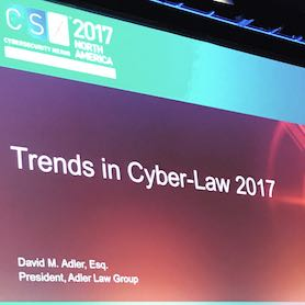 Trends in Cyber Law